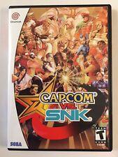 Capcom vs SNK - Sega Dreamcast - Replacement Case - No Game