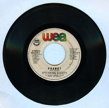 Philippines APO HIKING SOCIETY Paano? OPM 45 rpm Record