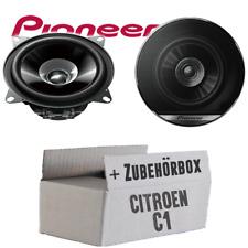 Pioneer Lautsprecher für Citroen C1 10cm 100mm Auto 190W PAAR Boxen Einbauset