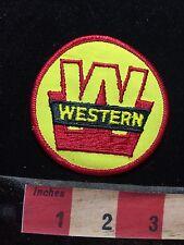 Vtg Big W Initial WESTERN Advertising Patch 77RR