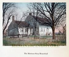 "Kings County NYC ""The Martense-Story Homestead"" © 1909 Reprint Vintage Photograp"