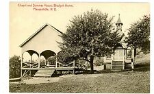 Pleasantville NY - CHAPEL AND SUMMER HOUSE AT BLODGETT HOME - Postcard