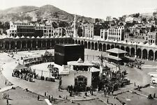 1934 Vintage 11x14 ISLAM Great Mosque Of Mecca Kabah Architecture Landscape Art