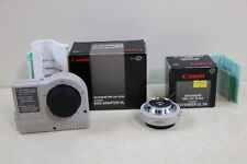Canon EOS M Mount Adapter AND Canon Extender CL 2X Video Lens System BOX JAPAN