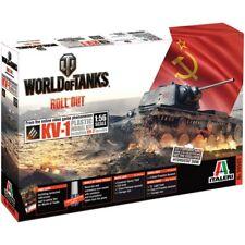 Italeri 56505 1/56 World of Tanks KV-1/KV-2