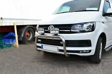 Bull Bar + Spots For Fiat Talento 16+ Stainless Steel Abar Front Bumper Guard