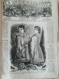 la mode illustree Année 1880 et 1881 Complète