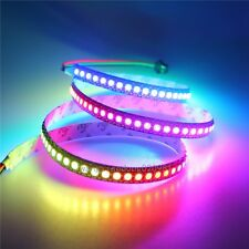 3.2ft 144 LEDs SK6812 RGB LED Strip Replace WS2812B Light Individual 5V NP Black