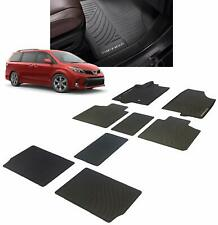 Toyota Sienna 2017 - 2020 All Weather Rubber Floor Liner Mat Set - OEM NEW!