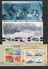 Norway FINE Lot of 4 Souvenir Sheets MNH  - FREE SHIPPING