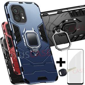 Xiaomi Mi 11 5G 360° Bague Antichoc Étui Coque Housse Case Cover 3D Verre Trempé