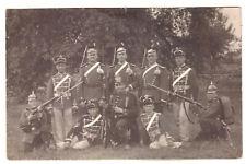 Foto AK Soldaten Spandau Berlin 1911 Ulanen Husaren (72)
