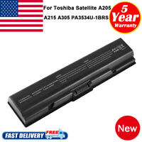 Notebook Battery for Toshiba Satellite PA3534U-1BRS A205 A305 A505 L305 L505D PC