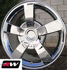 "20"" inch 20 x8.5"" Wheels for Chevy Avalanche Chrome Rims Silverado SS"