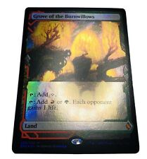 Mtg. ZNE. Zendikar Rising Expeditions. 25. Grove Of The Burnwillows. Foil.