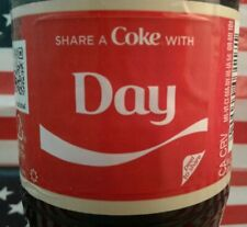 Share A Coke With Day 2018 Personalized Coca Cola Vanilla Bottle