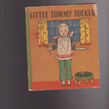 Little Tommy Tucker & Other Mother Goose Rhymes 1934 Mary Royt Whitman