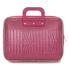 "Bombata - Pink Medio Cocco 13"" Laptop Case/Bag with Shoulder Strap"