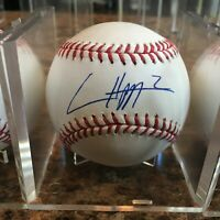 Ian Happ Signed Rawlings Official MLB Baseball Chicago Cubs