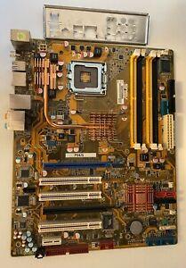 ASUS P5K/S Mainboard Sockel 775 DDR2 mit i/o shield 1-Jahr Gewährleistung