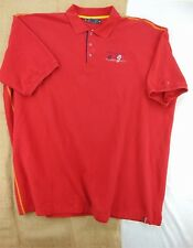 Australian COOGI Men's NEW Short Sleeve 100% Cotton Knit POLO SHIRT 6X RED