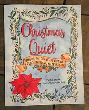 New Christmas Quiet 25 Day Devotional Study Adult Coloring Book Sparks,Younis BN