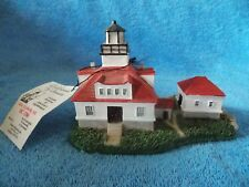 Lighthouse by Scaasis Egg Rock Harbor Me Sc -186 Figurine