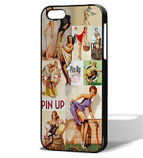 Pin Up Girl Clásico Retro Iphone 5s Estuche/cubierta. se adapta iPhone 5/5s y el iPhone se