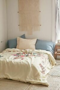 New UO Bianca Green For DENY Louis Armstrong Told Us So Duvet Cover Full/ QUEEN