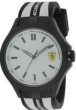 Ferrari Scuderia Pit Crew Silicone Mens Watch 0830280