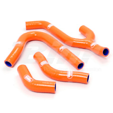 SAMCO SET MANCHON TUYAUX RADIATEUR ORANGE KTM EXC 250 1998-2002