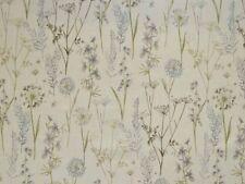 1.9 Metres Fryetts Wild Flowers Teal Designer Fabric
