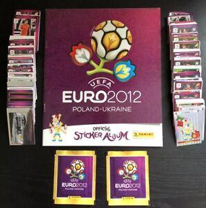 Panini UEFA EURO 2012 Complete Set + 2 Packets (International Version)