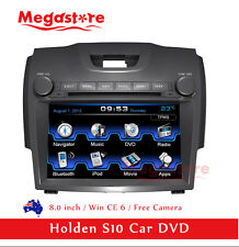 "8"" Car DVD Player GPS Navigation Stereo Holden S10 Colorado Isuzu D-max 2012+"