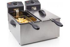 Friggitrice Professionale Elettrica TRISTAR 3Lt x2 vasche max 190 °C FR-6937