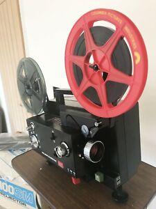 ELMO K100-SM Super 8 Standard 8 Cine Movie Film Projector Fully Serviced JAPAN