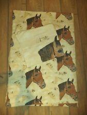 Bettwäsche 2-tlg. Pferde❤Baumwolle❤️My Horse Pferde ❤BIBER❤️135 x 200
