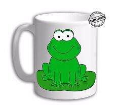 Personalised Frog Mug cup Toad mug cup. Customise with your own text. FOC. IL730