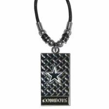"NFL- Dallas ""Cowboys"" Diamond Plate Tailgate Necklace"