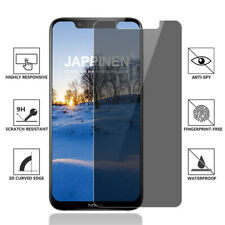 For Nokia X71 9 8.1 Plus Privacy Tempered Glass Anti-Spy Screen Protector Film