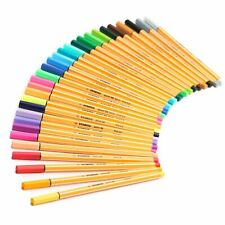 Stabilo Point 88 Fineliner Pens - Neon Colours - Assorted wallet of 30
