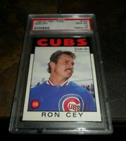 1986 O-Pee-Chee OPC #194 RON CEY Chicago Cubs PSA 10 GEM MINT 👀