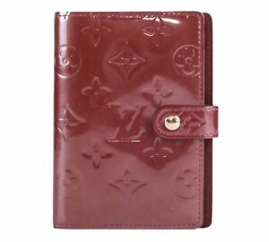 Authentic Louis Vuitton Vernis purple Agenda PM notebook