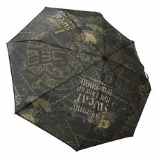 Harry Potter I Solemnly Swear  Compact Folding Umbrella 100% NYLON