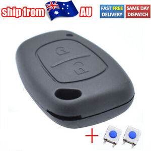 For Renault Kangoo Opel Movano 2004-2009 Auto Parts Car Remote Key Case Cover