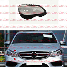 Right Side Lucency Headlight Cover + Glue For Mercedes W212 E-Class 2014-2016