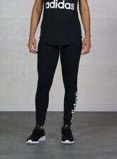 Adidas Ess Lin Tight Leggings Donna neri XS Nero