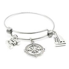 1 PCS  Adjustable Bracelet Compass bangle bracelet  Personalized Travel Bracelet