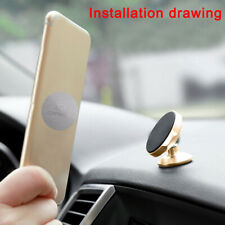 2pcs Plate Sticker Replacement For Magnetic Car Mount Magnet Phone Holder Metal
