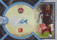 2018-19 Topps UEFA Bundesliga Museum Collection Archival Autograph Sapphire /75